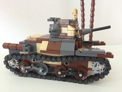 Brickmania Type 95 Ha-Go (pslcraft) Tags: hago type95 legotank brickmania