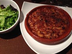 Cassoulet at Les Cinq Sens, Avignon, France (Jack at Wikipedia) Tags: france cassoulet avignon