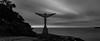 90 Seconds (StephEvaPhoto) Tags: new sea sculpture white black art beach monochrome bondi by wales canon lens photography eos prime walk f14 south sydney sigma australia full coastal frame nsw suburbs 24mm eastern dg 6d tamarama zevent