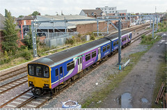 150150GB_Earlestown_300915 (Catcliffe Demon) Tags: uk railways merseyside sprinter mk3 dmu northernrail dieselmultipleunit class1500 brelyork ukrailimages2015