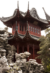 The Rockery's Rocks (femiano.ciro) Tags: china travel sky building garden photography asia shanghai chinese prc   oldcity yuyuangarden huangpu peoplesrepublicofchina puxi yugarden     canon40d