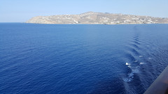 Making waves in Mykonos (grinnin1110) Tags: europe waves hellas greece mykonos mediterraneansea ellas islandprincess hells ells mediterraneancruise vacation2015