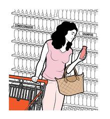 Informe Atacado - Compras no mercado (Rodrigo Damati) Tags: info ilustrao vetor ilustra infografia