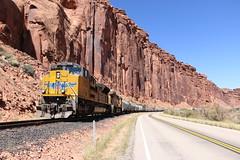 Potash, Utah (UW1983) Tags: up utah trains unionpacific potash railroads potashlocal canecreeksub