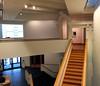 Art Halls (chantsign) Tags: williamscollege staircase windows door hall angles balcony