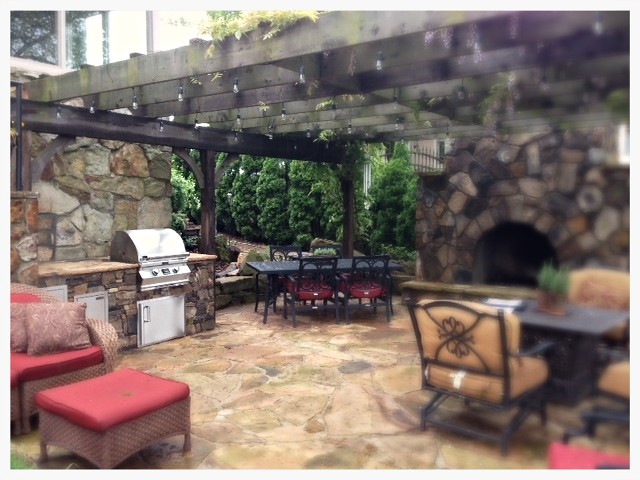 Custom Fire Magic Outdoor Kitchen. Signal Mtn. Tn.