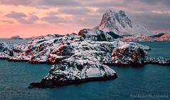 Lofoten Islands Sunrise - Norway (Panorama Paul) Tags: snow cold ice norway sunrise steine lofotenislands nikkorlenses nikfilters nikond800 wwwpaulbruinscoza paulbruinsphotography
