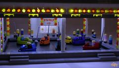 Bumper cars (6kyubi6) Tags: car lego fair bumpercars moc miniscale ironbuilder 6kyubi6
