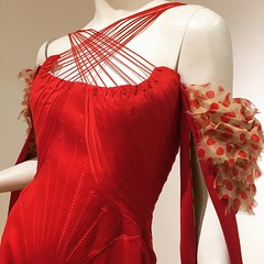 Instagram @paradoxdesignsnyc December 03, 2015 at 04:08PM (paradoxdesignsnyc) Tags: christmas 2002 red for saw spring blood bull just corset isnt jumpsuit alexandermcqueen moderncorset instagram ifttt worldmcqueen spanishruffles
