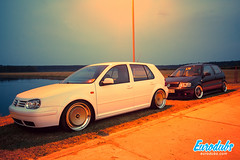"MK4 & Polo 6N2 • <a style=""font-size:0.8em;"" href=""http://www.flickr.com/photos/54523206@N03/23224612862/"" target=""_blank"">View on Flickr</a>"