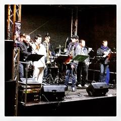 Kneipennacht in der Innenstadt von Gronau... (Marcel van Gunst) Tags: jazz nrw jazzfest gronau kneipennacht jazzfestgronau uploaded:by=flickstagram instagram:photo=97554469266376001455328948 instagram:venuename=enchiladagronau instagram:venue=2933980