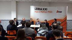 Reunião da Secretaria-Geral com a Distrital de Leiria.