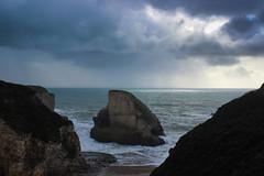 shark fin cove (j j miller) Tags: ocean california coast rocks davenport hwy1 californiacoast sharkfin rockstacks sharkfincove