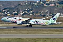 Aeropuerto Adolfo Suárez Madrid-Barajas-Boeing 787-9 Dreamliner-XA-ADL-Aeroméxico (Air Spotter Madrid) Tags: quetzalcoatl aeroméxico aero méxico madrid transporte airbus boeing vacaciones fotos vuelos ciudad de aviation