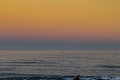 Maricielo (Pabliru) Tags: mar cielo sea sky playa beach badalona paisaje nocturna