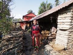 Bought oranges on the way to Sarangkot (kawabek) Tags: sarangkot pokhara nepal farmer
