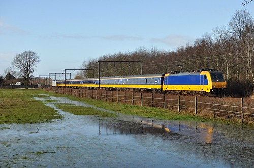 "Statische/dynamisch radiotestrit met de NSR E186122 (zonder logo) en NSR IC ""Benelux"" /// Static/dynamic radio test drive with E186122 and the NSR NSR IC ""Benelux"""