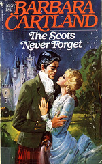 Novel-The-Scots-Never-Forget-by-Barbara-Cartland (Count_Strad) Tags: novel book pages read reading pulp barbaracartland romance