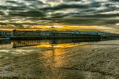 Quayside 3 (View From The Chair Photography) Tags: staithes river water reflection sunset