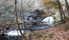 HACKERS FALLS on the RAYMONDSKILL River (DenSmith) Tags: waterfall pocono pike dingmans