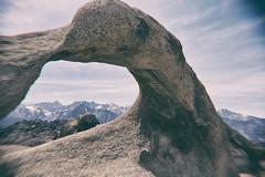 Mobius Arch Memories (matthewkaz) Tags: arch mobiusarch mobius rock rocks alabamahills easternsierra sierranevada mountains peaks sky snow clouds owensvalley lonepine inyocounty california 2014 mtwhitney mountain peak