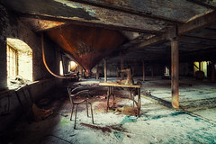 In the rot and the rust (Yann PESIN) Tags: jaune urbex urban urbexing exploration decay oblivion path urbaine oubli ruine abandoned places exploring