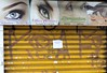 Por Aí-Ficar Bonita-Diadema (nariobarbosa) Tags: porai ficarbonita sobrancelha olho street salaobeleza diadema saopaulo brasil brazilian