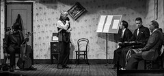 Apollo - Ladykillers Presentation (Ian Johnston LRPS) Tags: apollo theatre ladykillers mono newport drama ealing crime caper 2017 stage players actors