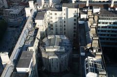 London Eye view (Spannarama) Tags: londoneye london uk countyhall lookingdown