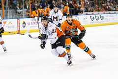"Missouri Mavericks vs. Quad City Mallards, December 31, 2016, Silverstein Eye Centers Arena, Independence, Missouri.  Photo: John Howe / Howe Creative Photography • <a style=""font-size:0.8em;"" href=""http://www.flickr.com/photos/134016632@N02/31972640501/"" target=""_blank"">View on Flickr</a>"