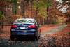 autumn drive (kderricotte) Tags: helios40285mm15 bokeh sonya6000 autumn fall leaves drive car volkswagen jetta swirly trees outside outdoor road