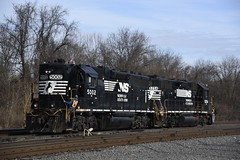 Abrams Remote Job with NS 5002-5254 (cemsrus) Tags: ns 5002 5254 abrams yard rco remote control operation