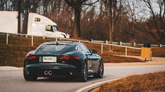 F-Type Cruise (WANDERERnation) Tags: ftype jaguar jag typer types jaguarusa backroads cruise british britishcar gt grandtour drive drivetribe road highway rolling sony nex nex7 car cars carphotography wanderer wanderernation virginia ftypecoupe coupe 2door exotic auto automotive enthusiast vehicle v6s v8s v8r ftyper ftypes britishracinggreen ap tune tuned mod modified center exhaust grill led headlight prime bokeh caravan run v6 v8 supercharged boost boosted pulley bpu apu unhingd unhinged classis classics timeless
