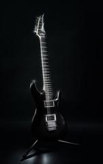 Electric guitar (Marc Andreu) Tags: guitar guitare electricguitar music light andreu marcandreu andreumarc art ibanez ibahezjs1