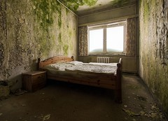 hotel (Captured Entropy) Tags: lostplace urbex decay mold abandoned hotel green