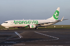 Transavia Airlines | Boeing 737-8K2(WL) | PH-HSB (Bradley at EGSH) Tags: egsh nwi norwichairport norwich norfolk canon70d aircraft aviation plane photgraphy flying transaviaairlines boeing7378k2wl phhsb