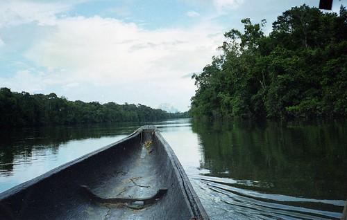 We continue along the Rio Negro