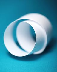 Circular Reasoning II (j.towbin ©) Tags: allrightsreserved© paper justwhitepaper macro curled circular white mostlywhite edges curlededges macromondays ef100mmf28lisusmmacro
