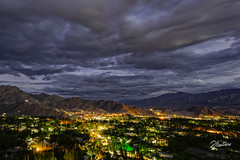 Leh by Night (Riccardo Maria Mantero) Tags: clouds mantero riccardomantero riccardomariamantero india landscape leh night outdoors sky travel