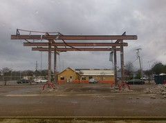 View of what was left, from McDonald's looking toward Taco Felix... (l_dawg2000) Tags: 2000s apparel fuelcenter grocery grocerystore hernando householdgoods kroger marketplace mississippi ms october2016 seasonal supermarket unitedstates usa