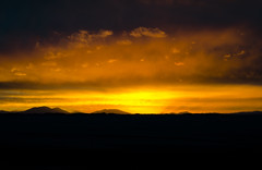 Sunset in Uyuni (Cédric Nitseg) Tags: greelow nikon d7000 bolivie bolivia uyuni desert désert sun soleil couché light night lumière nuit mountain montagne