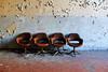 Attesa infinita (Deftony) Tags: decay luoghiabbandonati ospedalepsichiatrico saladiattesa abandoned chair vintage photography sedie urbex manicomio poltrone