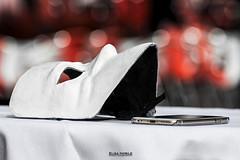 MASKS (elisanobile) Tags: mask maschera carnevale carnival venice venezia canon7dmarkii canon still life iphone telephone telefono oggetto bianco nero rosso red black white