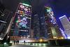 Admiralty at Night (tomosang R32m) Tags: victoriaharbour 香港 hongkong yakei night light illumination 夜景 central 中環 金鐘 admiralty tamarpark 添馬公園 lippocentre hk リッポーセンター 力寶中心