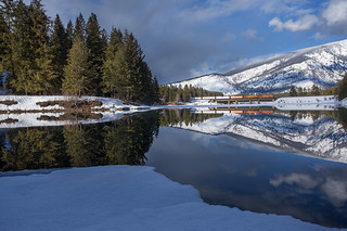 Trout Creek Reflected