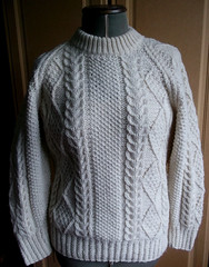 Aran fisherman wool sweater (Mytwist) Tags: tommo105 vintage unworn kilkeel handmade 100 wool chunky ivory cableknit jumper turtleneck aran irish fisherman style fashion passion modern timeless euc mytwist sexy retro grobstrick handknitted handcraft cabled cozy classic aranstyle heritage bulky cream woolfetish