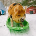 Kune Kune Pigs in the Snow-12