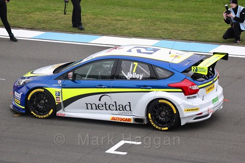 Stephen Jelley at the BTCC Media Day 2017
