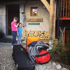 Bags packed. Heading home. (galvogalvo) Tags: bags packed heading home instagram