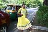 A Portrait of The Delhi Walla as a Hijra Beggar (Mayank Austen Soofi) Tags: portrait traffic delhi beggar eunuch hijra walla the a